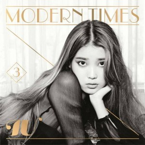 "Album art for IU's album ""Modern Times"""