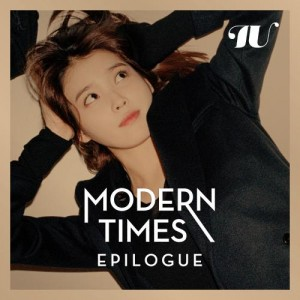 "Album art for IU's album ""Modern Times Epilogue"""