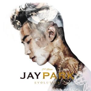 """Album art for Jay Park's album """"Evolution"""""""