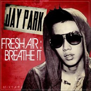 "Album art for Jay Park's album ""Fresh A!R: Breath !t"""