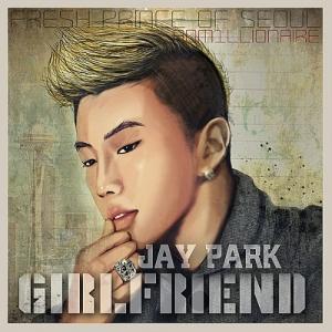 """Album art for Jay Park's album """"Girlfriend"""""""