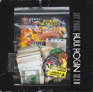 "Album art for Jay Park's album ""Hulk Hogan"""