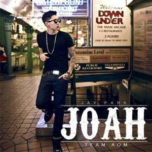 """Album art for Jay Park's album """"Joah"""""""