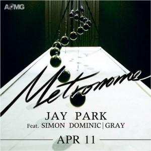 "Album art for Jay Park's ""Metronome"""