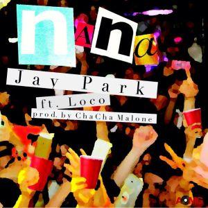 """Album art for Jay Park's album """"NaNa"""""""