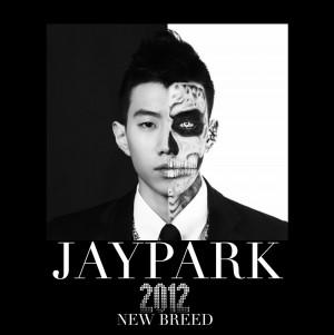 """Album art for Jay Park's album """"New Breed"""""""