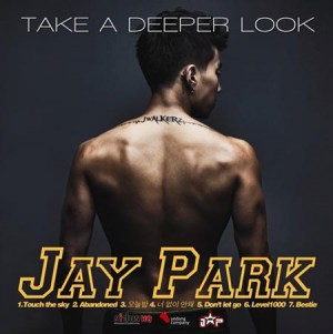 "Album art for Jay Park's album ""Nothing On You"""