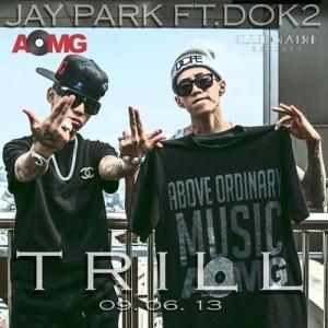 """Album art for Jay Park's album """"Trill"""""""