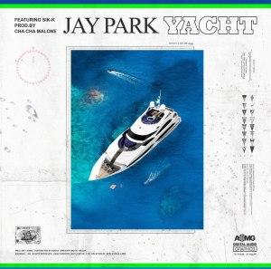 "Album art for Jay Park's album ""Yacht"""
