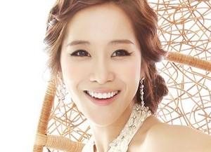 Jewelry's former member Min Ah.