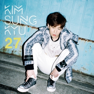 "Album art for Kim Sung Kyu (Infinite)'s album ""27"""