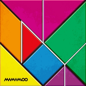 "Album art for MAMAMOO's album ""New York"""