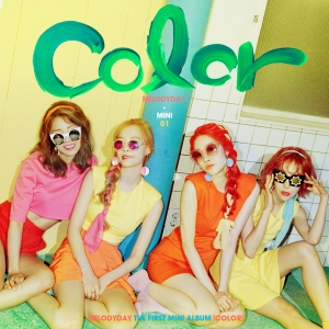 "Album art for Melody Day's album ""Color"""