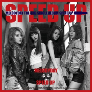 "Album art for Melody Day's album ""Speed Up"""