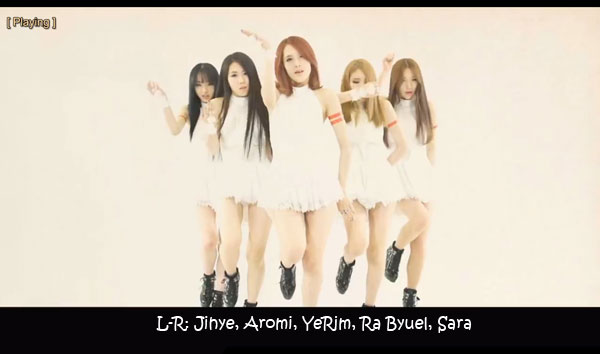 "The members of Scarlet in the ""Do Better"" MV"