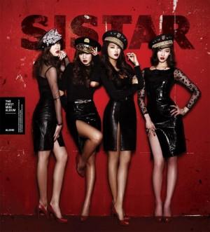 """Album art for SISTAR's album """"Alone"""""""
