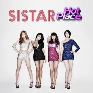 """Album art for SISTAR's album """"Hot Place"""""""