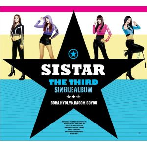 "Album art for SISTAR's album ""How Dare You"""
