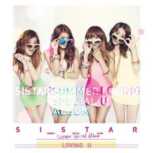 """Album art for SISTAR's album """"Loving U"""""""