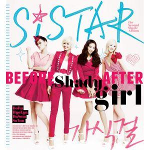 "Album art for SISTAR's album ""Shady Girl"""