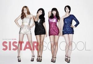 """Album art for Sistar's album """"So Cool"""""""