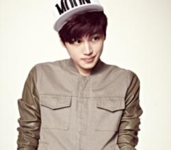 "Two Thousand Won's Kim Hyo-Bin's ""Beautiful"" promotional picture."