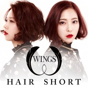 "Album art for Wing's album ""Hair Short"""