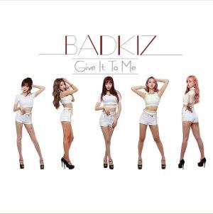 """Album art for Badkiz's album """"Give It To Me"""""""