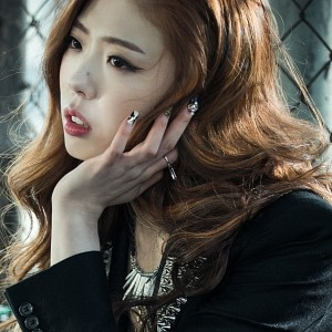 "Billion's Janet ""Dancing Alone"" promotional picture."