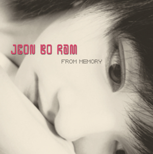 "Album art for Boram from T-Ara's album ""From Memory"""