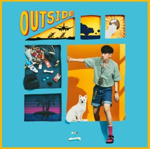 "Album art for Crush's album ""Outside"""