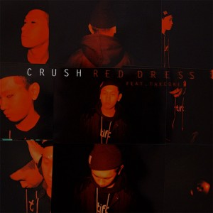"Album art for Crush's album ""Red Dress"""
