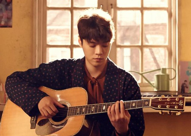 "Eddy Kim's promotional picture  for ""Heart Pound"""