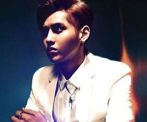 "EXO's Kris """" promotional picture."