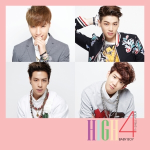 "Album art for High4's album ""Baby Boy"""
