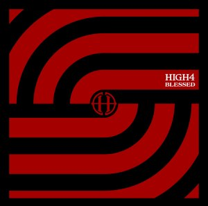 "Album art for High4's album ""Blessed"""