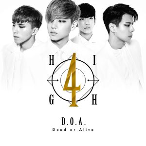 "Album art for High4's album ""D.O.A"""