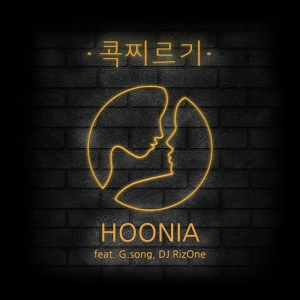 "Album art for Hoonia's album ""Sting"""