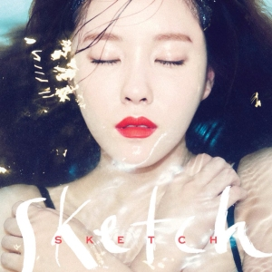 "Album art for Hyomin (T-Ara)'s alum ""Sketch"""