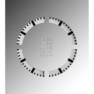"Album art for Jang Woo Hyuk's album ""I Am The Future"""