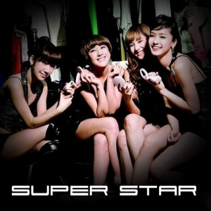 "Album art for Jewelry's album ""Super Star (single)"""