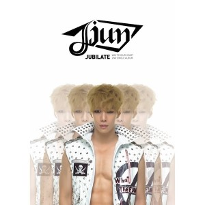 "Album art for JJun's album ""Jubilate"""