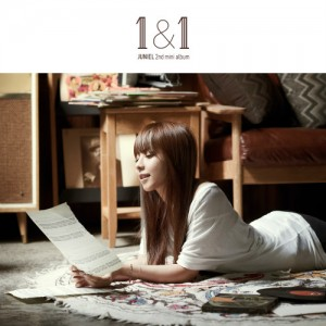 "Album art for Juniel's album ""1&1"""