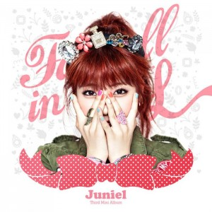 "Album art for Juniel's album ""Fall In L"""
