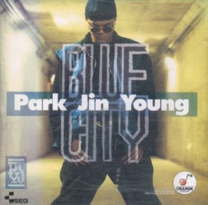 "Album art for JYP's album ""Blue City"""