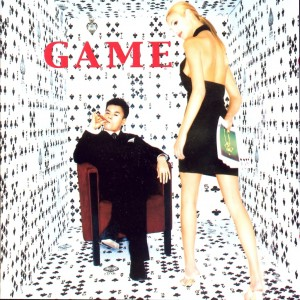 "Album art for JYP's album ""Game"""