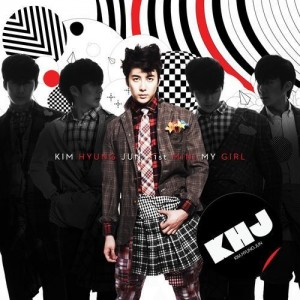 "Album art for Kim Hyung Jun's album ""My Girl"""