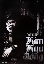 "album art for Kim Kyu Jong's album ""Turn Me On"""