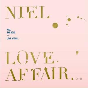 """Album art for Niel's album """"Love Affair"""""""