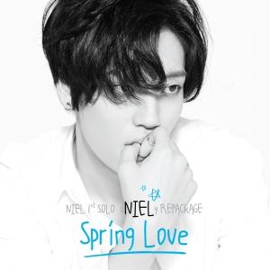 "Album art for Niel (Teen Top)'s album ""ONielY: Spring Love"""